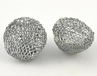 Two pieces of stainless steel tobacco pipe filter elements on the white background.  sc 1 st  Woven Wire Mesh & Tobacco Pipe Filters Protect Pipe and Health of Smokers